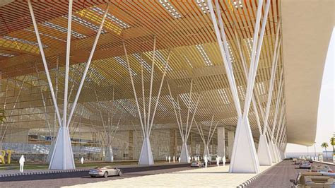 design competition for architects in india new delhi airport indira gandhi international terminal 3