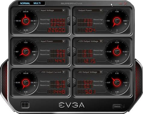 pc fan controller software evga supernova nex1500 classified psu review product