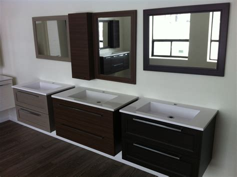 floating bathroom vanity in modern design for your lovely
