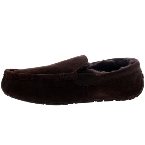 fu loafers mens moccasins australian suede sheepskin house fur