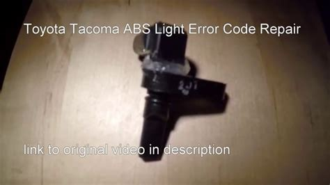 can you pass inspection with abs light on toyota tacoma check engine light code p0420
