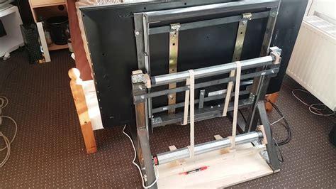 Tv Lift Eigenbau Erster Testlauf Youtube Innen Tv
