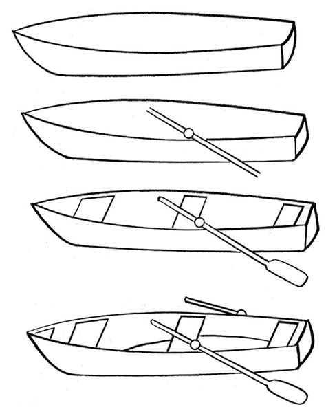 boat cartoon step by step drawing of boat drawing a cartoon boat easy drawing boat