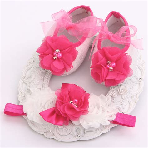 ivory toddler flower shoes rhinestone newborn baby shoes branded toddler baby