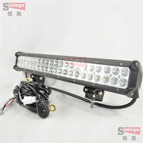 1pcs led offroad lights 126w led bar working led light