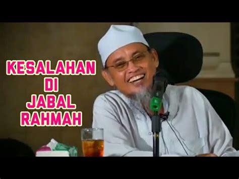 film lucu haji umar lucu kesalahan jamaah haji ke jabal rahmah ustadz ali