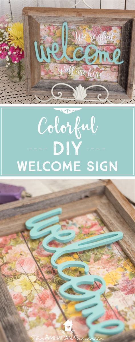 diy home decor signs best 25 welcome signs ideas on wooden welcome