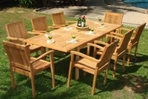 Best Wood For Patio Furniture by Why Outdoor Dining Sets Made Of Teak Wood Are The Best