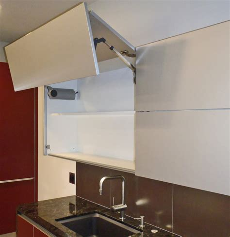 kitchen cabinet lift lift up doors automatic or manual contemporary