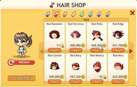 maplestory hair salon maplestory hair salon locations maplestory hair salon