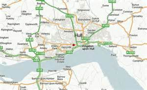 map of kingston upon hull kingston upon hull location guide