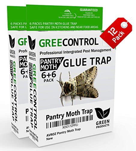 Pheromone Pantry Moth Traps by Best Pantry Moth Traps With Pheromone Attractant Non Toxic Non Pesticide Kid 2 Ebay