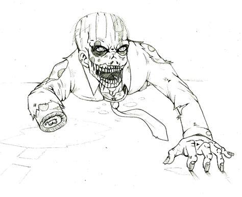 imagenes de dibujos a lapiz de zombies dibujo zombie en photoshop taringa