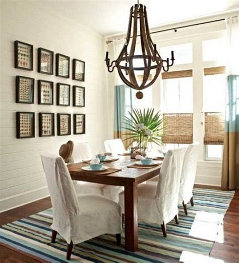 Casual Dining Room Lighting Nautical House Style Dining Room Home Pinterest