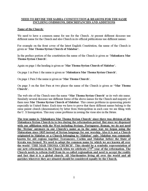 church constitution template choice image templates