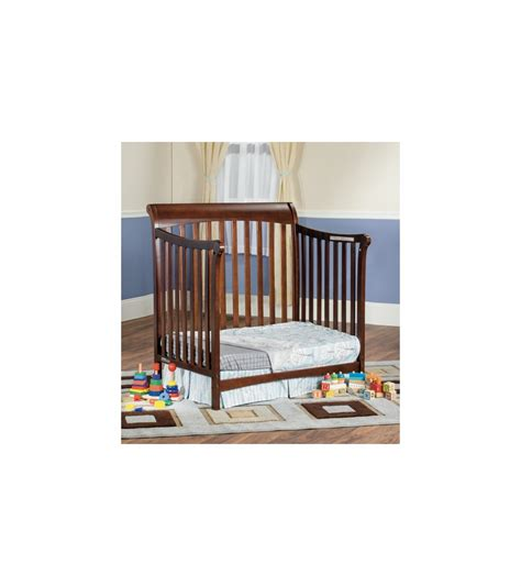Child Craft Mini Crib Child Craft Ashton Mini Convertible Crib In Select Cherry