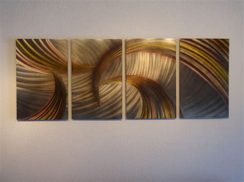 wall decor sculpture tempest bronze abstract metal wall contemporary