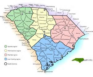 carolina map cities sc counties select south carolina county by name sc
