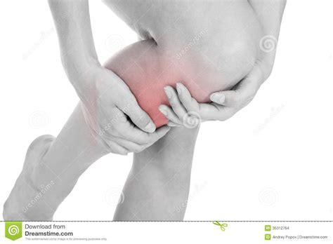 leg sprain leg injury stock images image 35312764