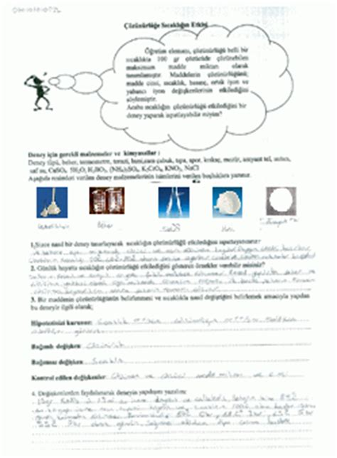 developing worksheet based on science process skills