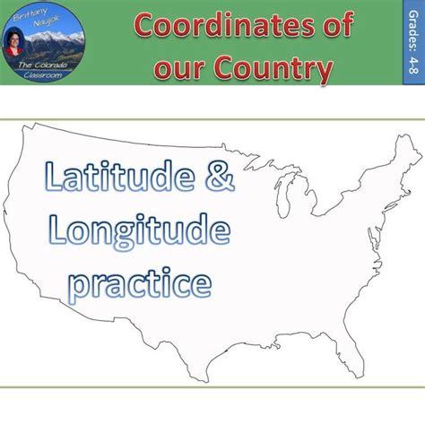 printable united states map with longitude and latitude lines coordinates of the united states latitude longitude