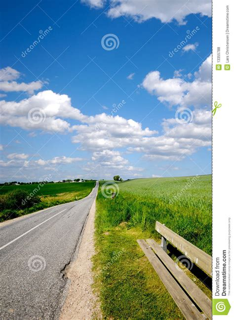 bench road road and bench royalty free stock photos image 13355788