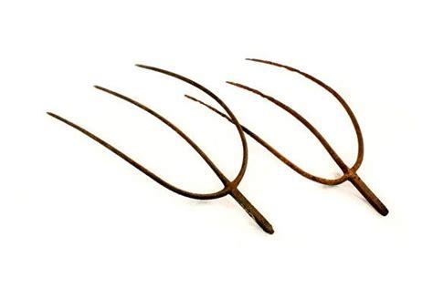 Rustic Vintage Home Decor antique 3 prong pitchfork head hay fork head