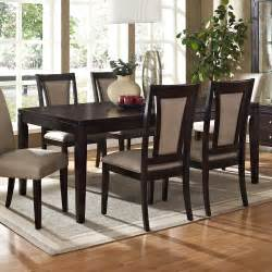 7 Piece Dining Room Set Steve Silver Wilson 7 Piece 60x42 Dining Room Set In