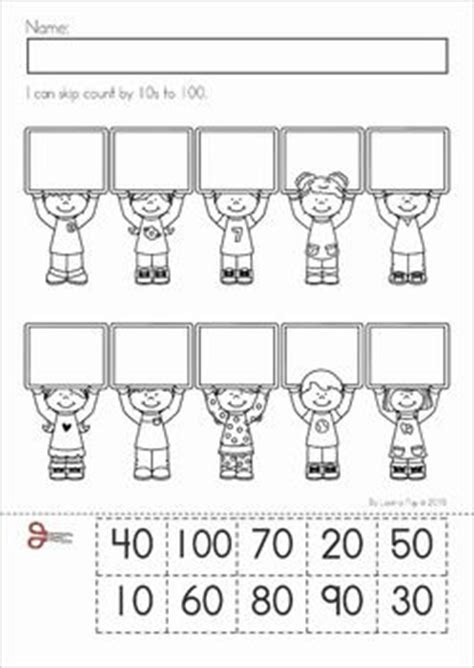 100th Day Counting Activities For - 100th day of school skip counting cut and paste and schools