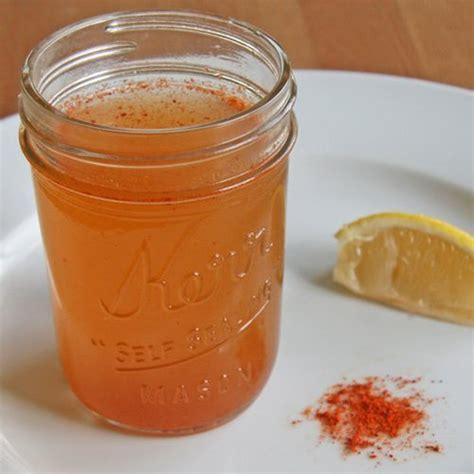 Apple Cider Vinegar Lemon Juice And Cayenne Pepper Detox by Apple Cider Vinegar Cayenne Pepper Cold Remedy Popsugar