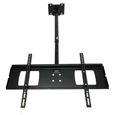 new 32 quot to 60 quot tv bracket hanging pole new swivel ceiling