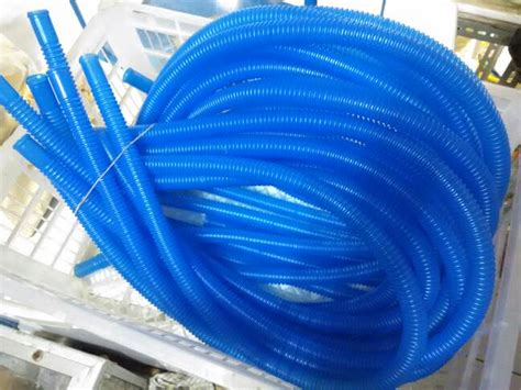 Selang Filter Aquarium jual selang spiral biru pompa top filter aquarium