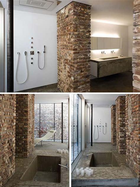 loft  dusseldorf brickwork loft design