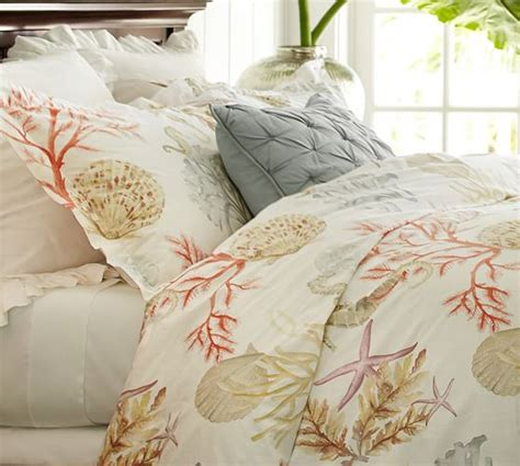 pottery barn king comforter atlantic duvet cover sham pottery barn