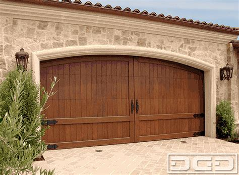 california dream  custom architectural garage door