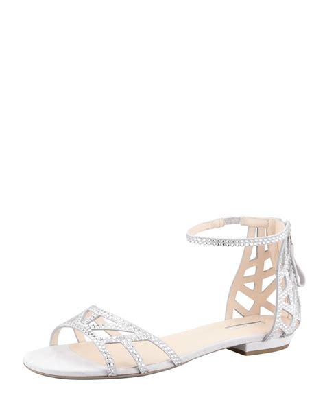 light grey womens dress shoes giorgio armani womens light gray flat crystal evening