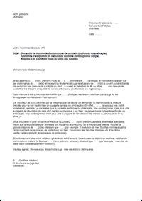 Exemple De Lettre Demande De Mise Sous Tutelle modele lettre requete juge tutelles mise en demeure 2018