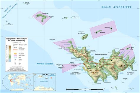 st barths map file barth 233 lemy island topographic map fr svg