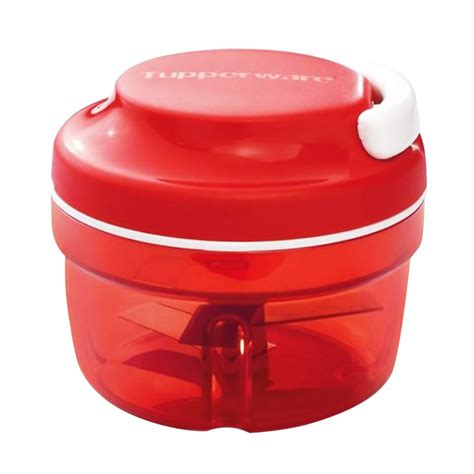 jual tupperware turbo chopper merah peralatan masak 300