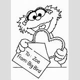Sesame Street Coloring Pages Zoe | 567 x 794 jpeg 97kB