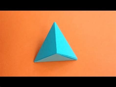 How To Make A Pyramid Out Of Paper - how to make a paper pyramid