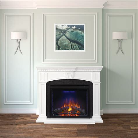 Napoleon Fireplace Mantels by Napoleon Nefp330214w Fireplace Mantel With 33 Inch