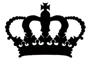 Crown Black And White Clipart crown clip dothuytinh