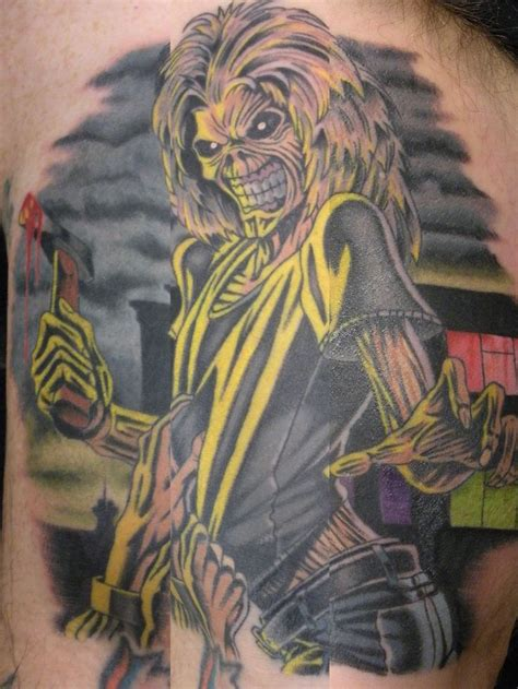 iron tattoo iron maiden s quot killers quot eddie slegel
