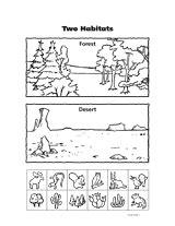 two habitats teachervision
