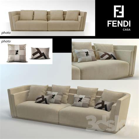 divano fendi 3d models sofa fendi casa borromini divano