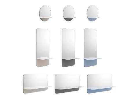 etagere 40 x 80 miroir mural horizon horizontal etag 232 re l 80 x h 40 cm
