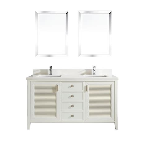 63 bathroom vanity sink 63 inch white finish cottage sink bathroom vanity