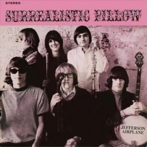 Jefferson Airplane Surrealistic Pillow by Through The Magnifying Glass The Psychedelic