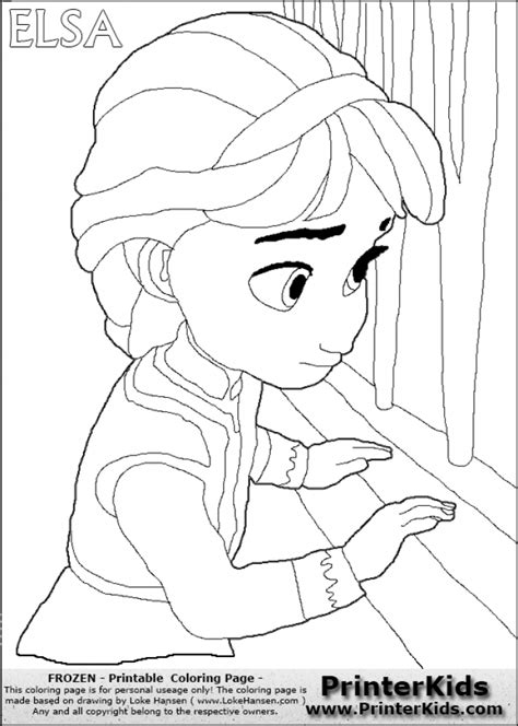 little elsa coloring page get this princess elsa coloring pages 69164